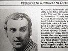 Pátrání po Janu Filovi v lednu 1987