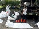 V hořícím autobusu v kolumbijském městě Fundacion zahynulo 31 dětí.