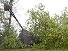 Valašské muzeum v přírodě v Rožnově pod Radhoštěm je po deštích uzavřeno....
