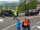 Na Blanensku došlo o víkendu k tragické dopravní nehodě. Čelně se tam srazila...