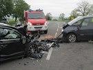 Na Blanensku se o víkendu stala tragická dopravní nehodě. Čelně se tam srazila...