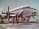 Iljušin IL-14 FG s posádkou v Hradci Králové