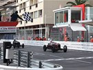 Grand Prix de Monaco Historique: Fotofiniš ve třídě předválešných monopostů.