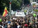 17. ročníku Million Marihuana March, pochodu za legalizaci konopí, se...