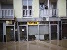 Povodně zasáhly i středobosenské městečko Maglaj, silný proud strhl i tamní