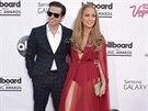 Lopezovou na ceny Billboard doprovodil její mladý přítel Casper Smart.