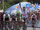 Mark Cavendish vítězí v 8. etapě závodu Kolem Kalifornie.