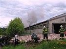 V Borové na Náchodsku hořel kravín.