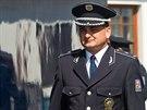Krajský policejní šéf Martin Červíček v akci
