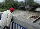 Bečva ve Valašském Meziříčí obyvatele příliš neznervózňovala, problém by podle...