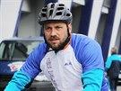 Zkušený obránce Petr Kadlec si na prvním tréninku v Plzni vyzkoušel roli...