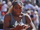 Serena Williamsová s pohárem pro vítězku turnaje v Římě.