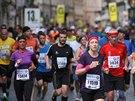 Momentka z Pražského maratonu