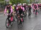 Giro se stalo důvodem pro oslavu cyklistiky na ostrově Irsko.