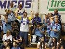 Fanoušci basketbalového Prostějova