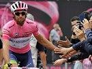 Michael Matthews na startu sedmé etapy Giro d' Italia