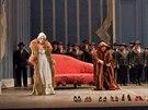 Z inscenace opery Popelka (Metropolitní opera, 10. května 2014)