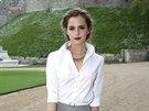 Emma Watsonová na večeři pořádané princem Williamem na zámku ve Windsoru (13.