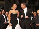Blake Lively a Ryan Reynolds (Cannes, 16. května 2014)