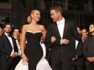 Blake Lively a Ryan Reynolds (Cannes, 16. kv�tna 2014)