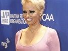 Pamela Andersonová (Beverly Hills, 11. ledna 2014)