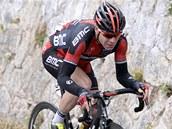 V šesté etapě Gira šlape do pedálů australský cyklista Cadel Evans ze stáje BMC.