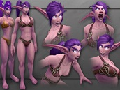 World of Warcraft - Night Elf nový model