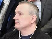 Radek Březina u olomouckého soudu.