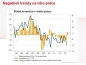 """""""Hlavním viníkem špatné nálady na českém pracovním trhu byl prudký propad..."""
