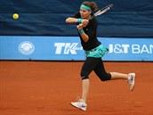 MARNÝ BOJ FAVORITKY. První nasazená tenistka Lucie �afá�ová skon�ila na Sparta...