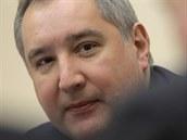 Ruský vicepremiér Dmitrij Rogozin (7. března 2014).