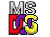 Logo systému MS DOS