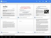 Vnových aplikacích Dokumenty a Tabulky lzevytvářet nové textové soubory a...