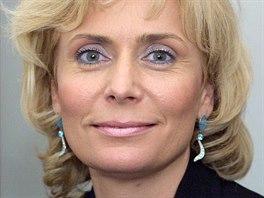 Helena Such�, vedouc� kancel��e poslance Evropsk�ho parlamentu Miloslava Ransdorfa