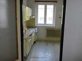 Pohled do původní kuchyně