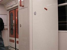 Mobilní část vlakového zabezpečovače ARS v modernizovaných soupravách 81-71M na...