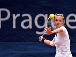 Klára Koukalová na turnaji v Praze