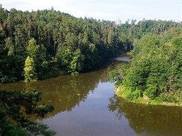 Vzdutí Jevišovické přehrady