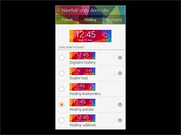 Aplikace Samsung Gear Fit Manager