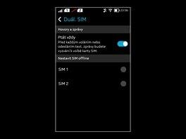 Displej smartphonu Nokia X