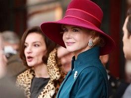 Nicole Kidmanová ve filmu Grace, kněžna monacká (2014)