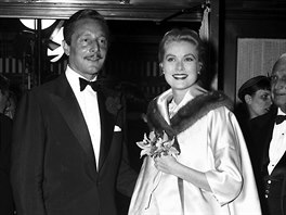 N�vrh�� Oleg Cassini a here�ka Grace Kelly (New York, 20. dubna 1955)