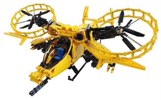Ujíždíme na kostkách - největší výstava LEGO modelů v ČR začíná. Foto: Dron