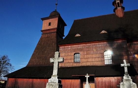 D�ev�n� kostel�k najdete i v Hrabov�, na okraji Ostravy