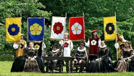 Slavnosti pětilisté růže hostí Český Krumlov