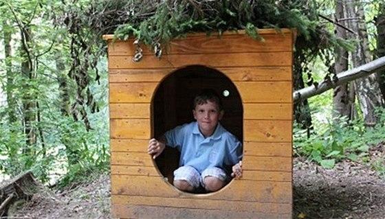 Kulíškova stezka nabídne dětem domečky a další herní prvky