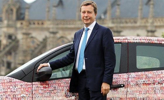 Šéf evropské Toyoty Didier Leroy.
