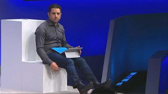 Kužník Jan: Surface Pro 3 uzpůsobený pro práci na kolenou.