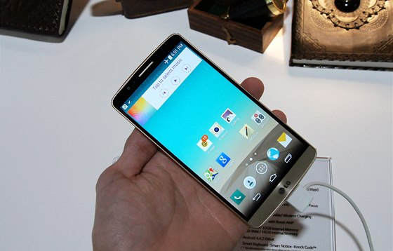 U modelu G3 pou�ilo LG jako�to prvn� sv�tov� v�robce displej s QHD rozli�en�m...