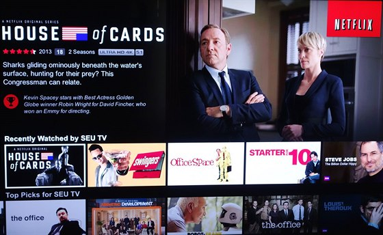 Sony 4K: House of Cards na Netflixu